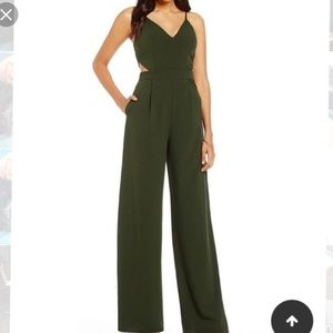 Small olive green Gianna Bini Catsuit.